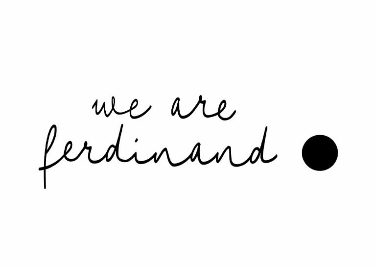we are ferdinand logo